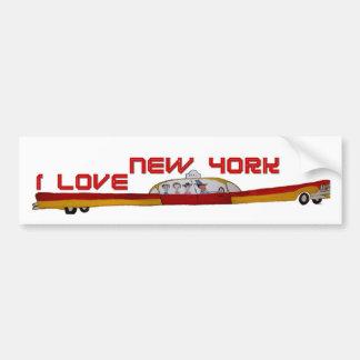 New York Bumper Stickers