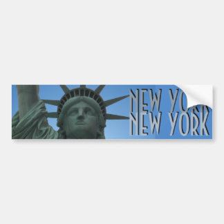 New York Bumper Sticker Statue of Liberty Stickers