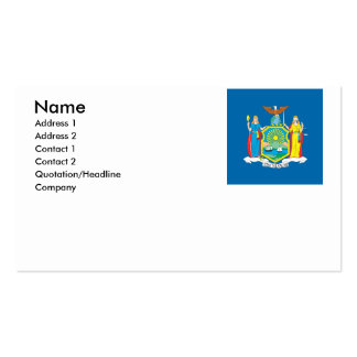 NEW  YORK BUSINESS CARD TEMPLATE