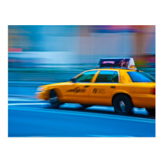 New York Cab Post Cards