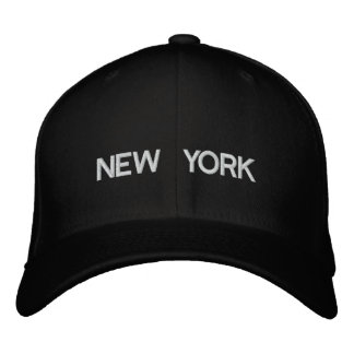 New York Cap Embroidered Cap