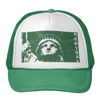 New York Caps Pink New York Souvenir Liberty Gifts Mesh Hat
