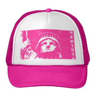 New York Caps Pink New York Souvenir Liberty Gifts Hats