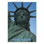 New York Card New York Souvenir Statue of Liberty