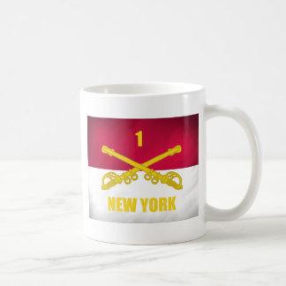 New York Cavalry Basic White Mug