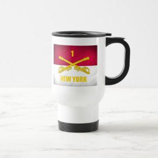New York Cavalry Stainless Steel Travel Mug