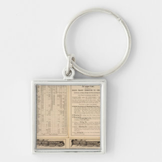 New York Central and Hudson River Railroad 2 Key Ring