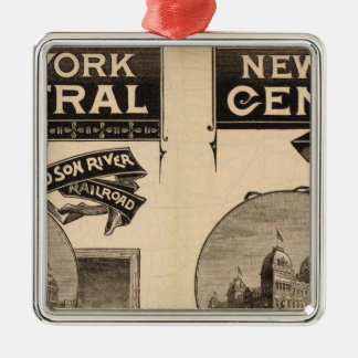 New York Central and Hudson River Railroad Christmas Ornament