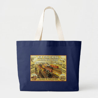 New York Central Large Tote Bag