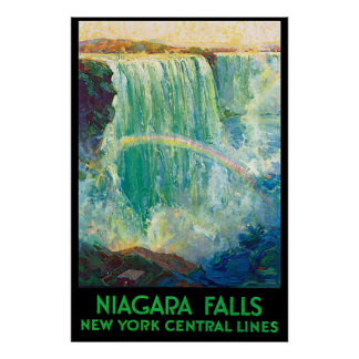 New York Central Line to Niagara falls Poster