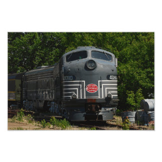 New York Central Locomotive Photo/Print