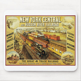 New York Central Mouse Mat