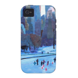 New York Central Park Ice And Winter In Manhattan iPhone 4 Case