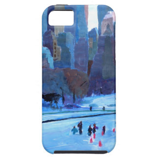 New York Central Park Ice And Winter In Manhattan iPhone 5/5S Case
