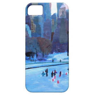 New York Central Park Ice And Winter In Manhattan Cover For iPhone 5/5S