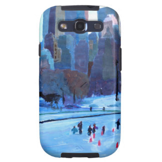 New York Central Park Ice And Winter In Manhattan Galaxy S3 Cases