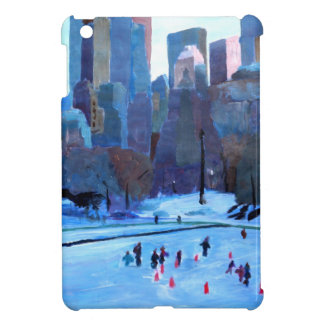 New York Central Park Ice And Winter In Manhattan iPad Mini Covers