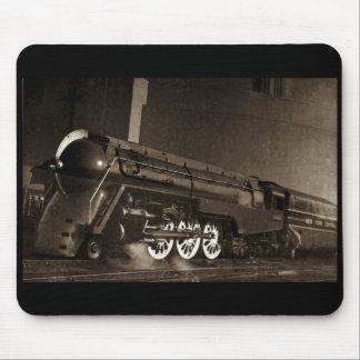 New York Central Vintage Art  Deco Train Mouse Mat