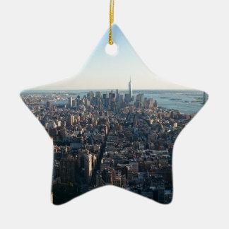 New York Ceramic Star Decoration