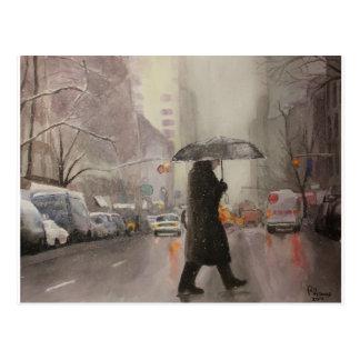 New York Chill Postcard