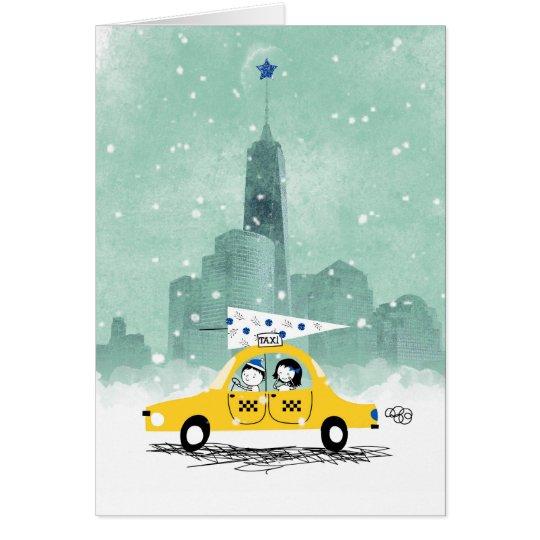 New York Christmas Card