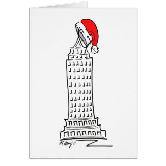 New York Christmas III Greeting Card