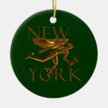New York Christmas Ornament