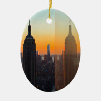 New York Christmas Ornament