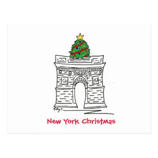 New York Christmas Postcards