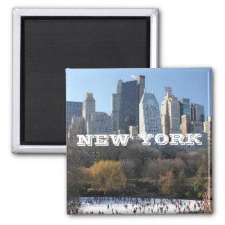 NEW YORK CHRISTMAS SQUARE MAGNET
