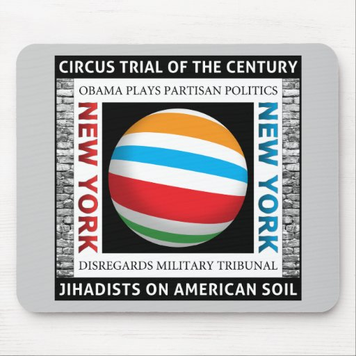 New York Circus Trial Mouse Pads