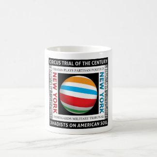 New York Circus Trial Classic White Coffee Mug