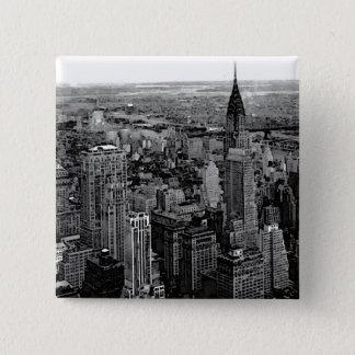 New York City 15 Cm Square Badge