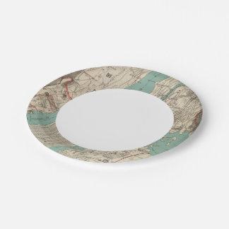 New York City 2 Paper Plate