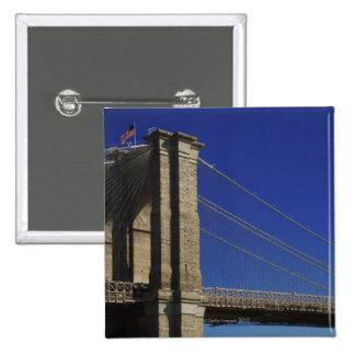 New York City 4 15 Cm Square Badge