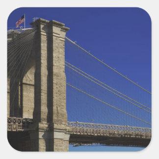 New York City 4 Square Sticker