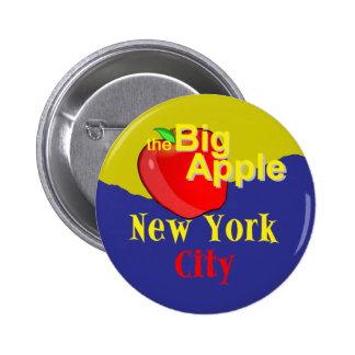 New York City 6 Cm Round Badge