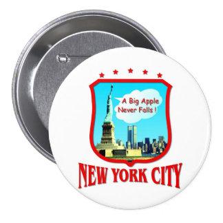 New York City 7.5 Cm Round Badge