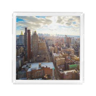 New York City Acrylic Tray