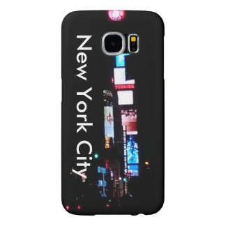 New York City After Dark Samsung Galaxy S6 Cases