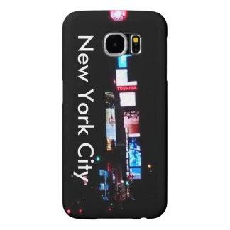 New York City After Dark Samsung Galaxy S6 Cases