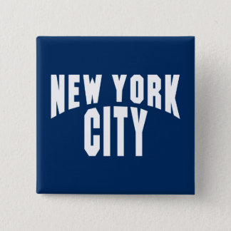New York City Arch 15 Cm Square Badge