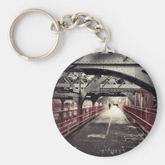 New York City Architecture - Williamsburg Bridge Key Ring