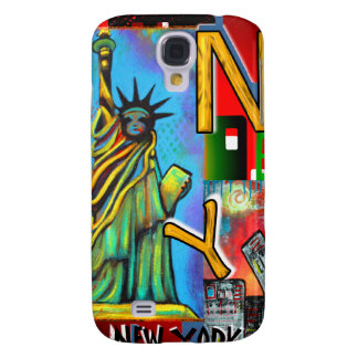 New York City Art Galaxy S4 Case