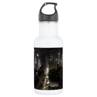 New York City at Night 532 Ml Water Bottle