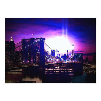 New York City at Night Invitation