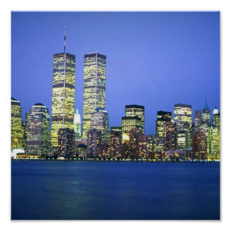 New York City at Night Posters