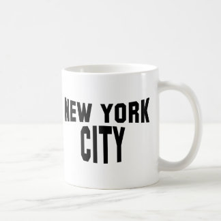 New York City Basic White Mug