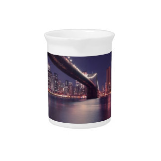 new-york-city beverage pitcher