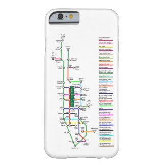 New York City Bike Map Smartphone Case